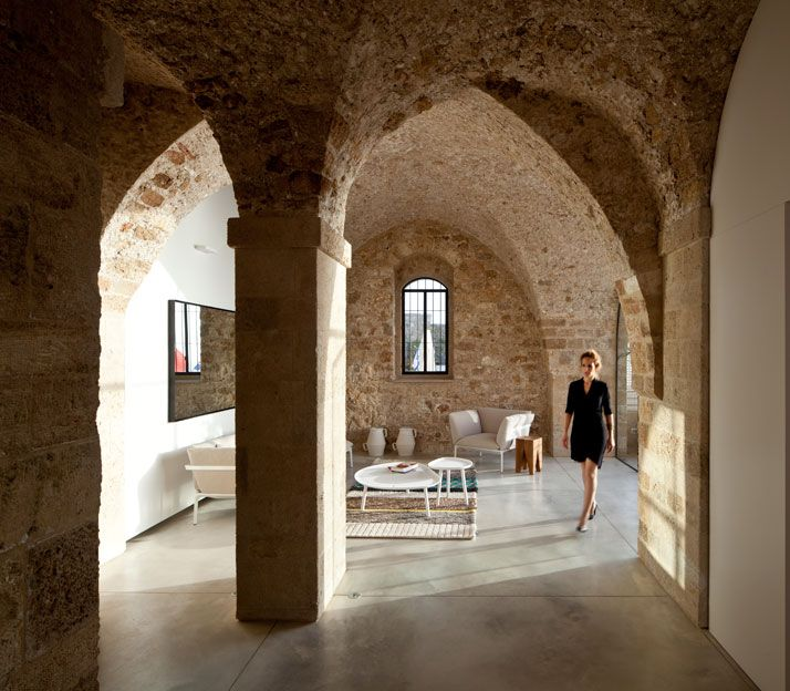 Simplypi: Contemporary Minimalism Meets Historical Asceticism In Old Jaffa,  Tel Aviv