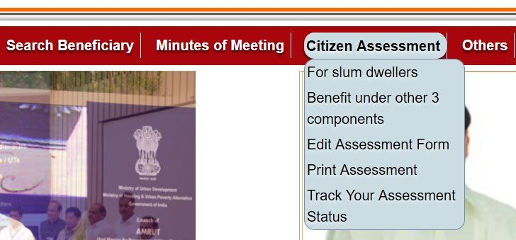 PM Awas Form Filling Step 1 Housing Scheme in India Pinterest - housing benefit form