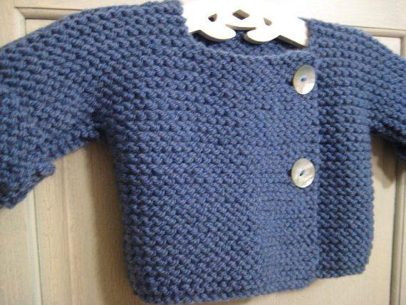 809fb8cfbbd7 Bebeknits Simple French Style Baby Cardigan Knitting Pattern Kids