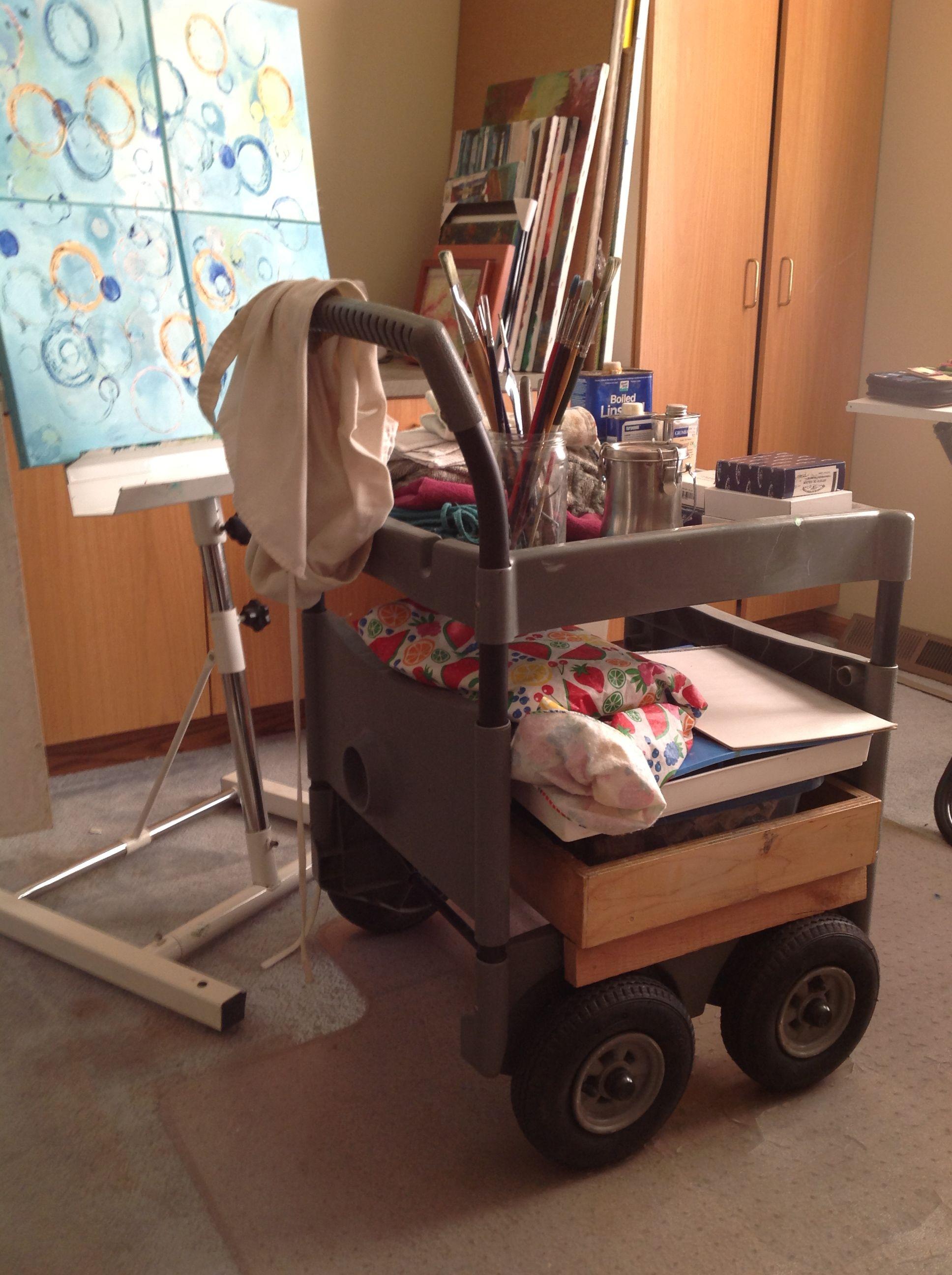 Art Cart Convert An Old Garden Hose