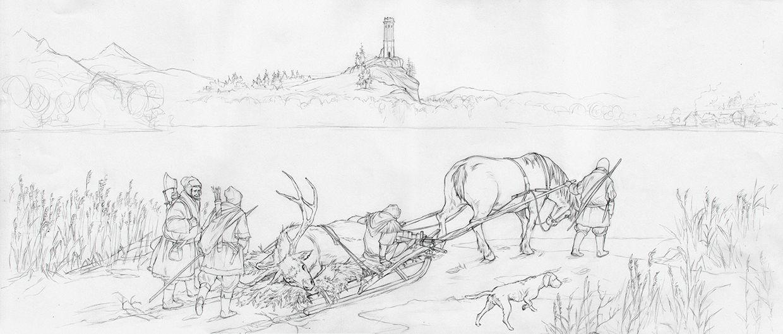 The Witcher 3: Wild Hunt by Marcin Karolewski