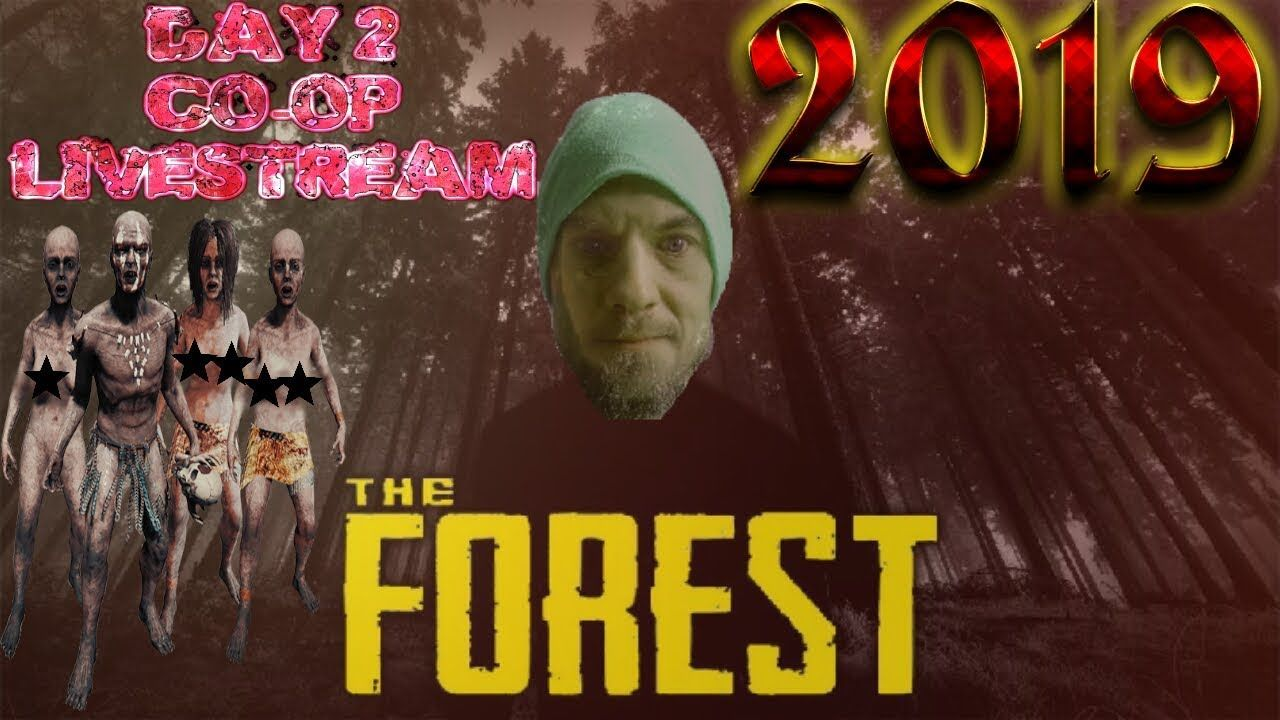 THE FOREST 2019 DAY TWO COOP LIVESTREAM PS4 Ps4, Ps4