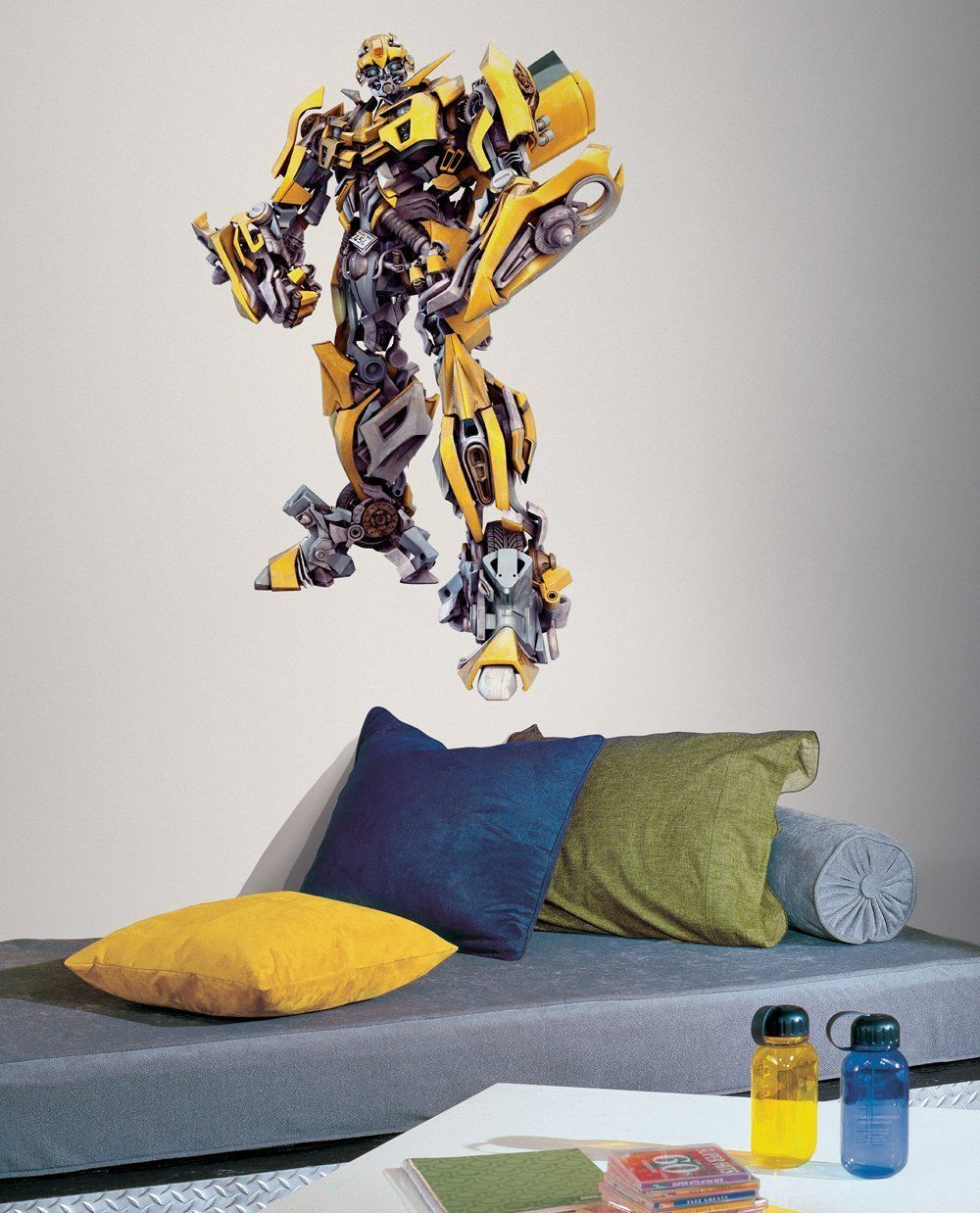 Transformers Bumble bee wall decal | Luke\'s Bedroom☆ | Pinterest ...