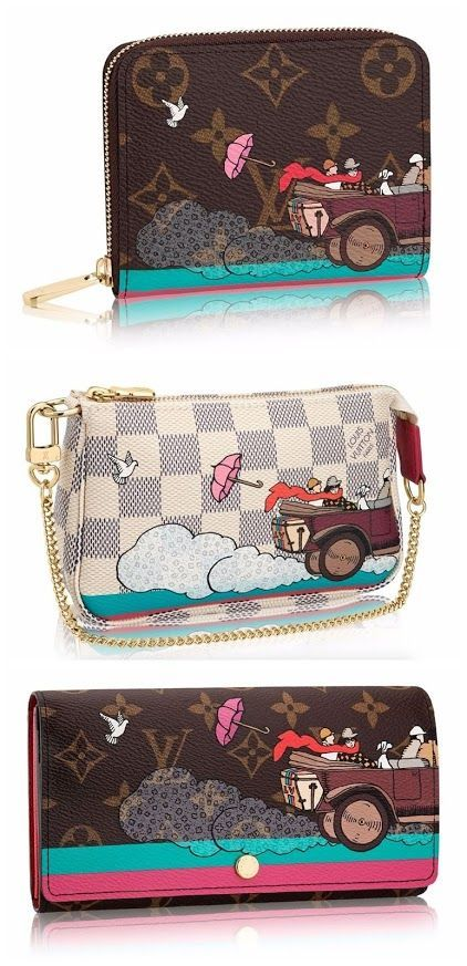 abcaab7d5901 Louis Vuitton Limited Edition 2015 Christmas Animation Line