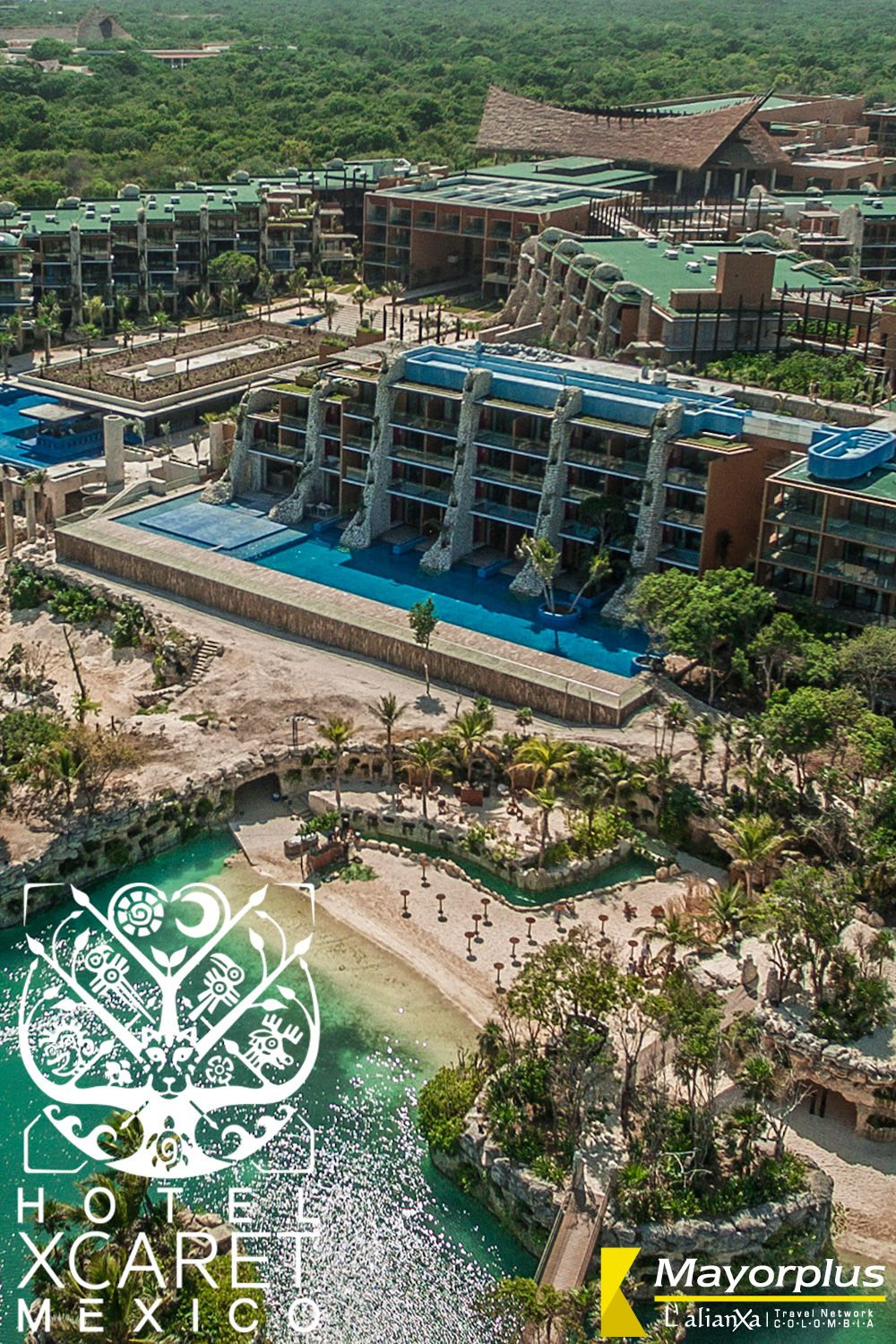Hotel Xcaret Mexico Toda La Diversion Incluida En Cancun In 2020