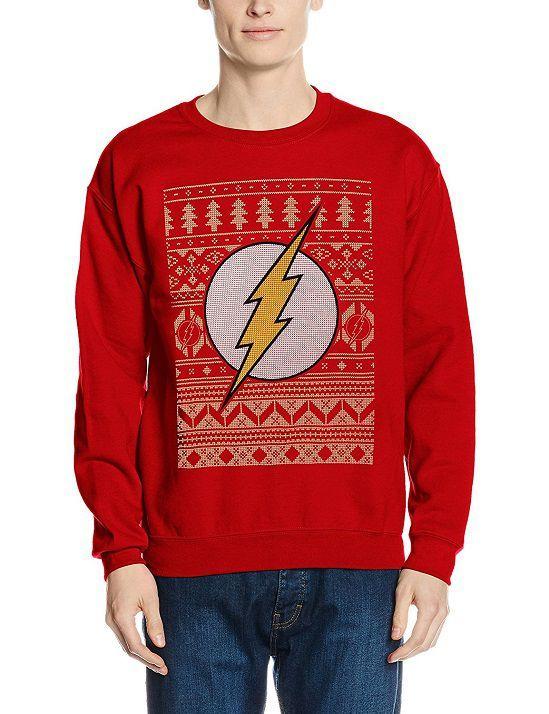 The Flash Christmas Jumper Christmas Shirts Sweatshirts The