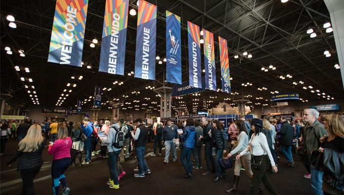D Printer Exhibition New York : The tcs new york city marathon health and wellness