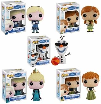 Funko Pop Frozen Set 2 Of Figures Disney S Frozen Gifts Funko Pop Dolls Funko Pop Anime Funko Pop Disney