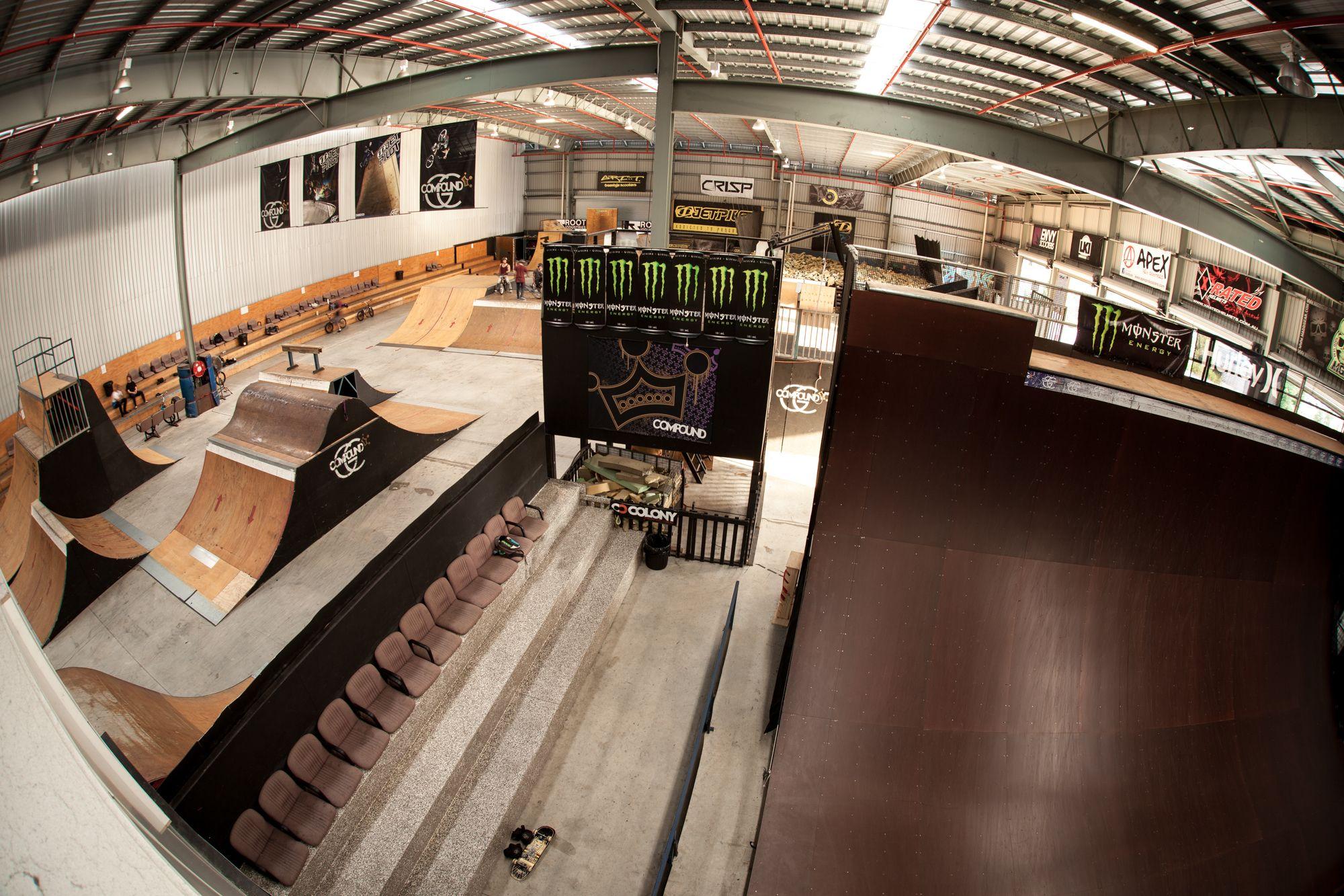 indoor skatepark Google Search Skateboard park, Skate