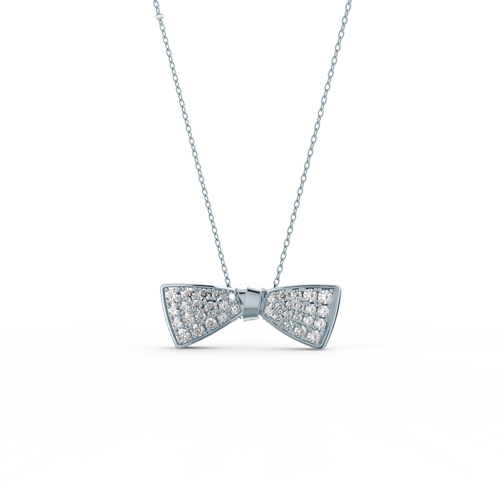 Delicate, feminine, and playful, Ada's Ballerina pieces feature stunning bows in a variety of sizes. The Ballerina Pendant makes a great gift for all ages.