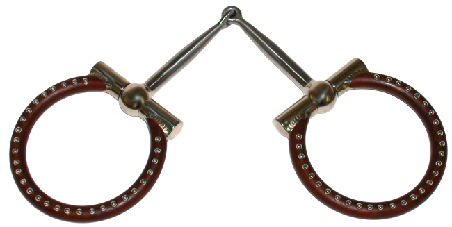 Ted Robinson Ballhinge D Ring Snaffle With Images Western Accessories Snaffle Bit Accessories