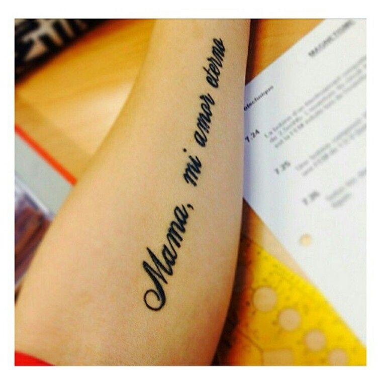 Mama Mi Amor Eterno Tatoo Mi Amor Eterno Tatuajes Y Amor