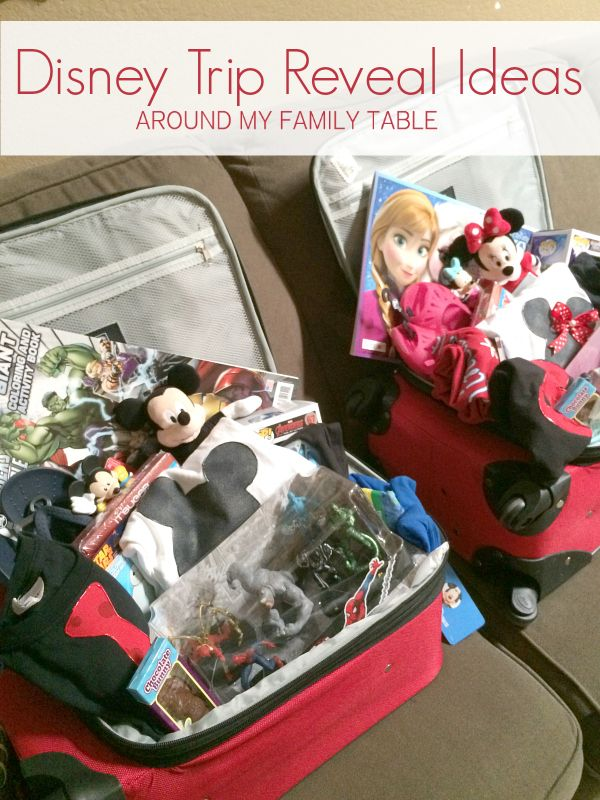 How to Reveal a Disney Trip to Your Kids | Homemaking Ideas {on AMFT ...