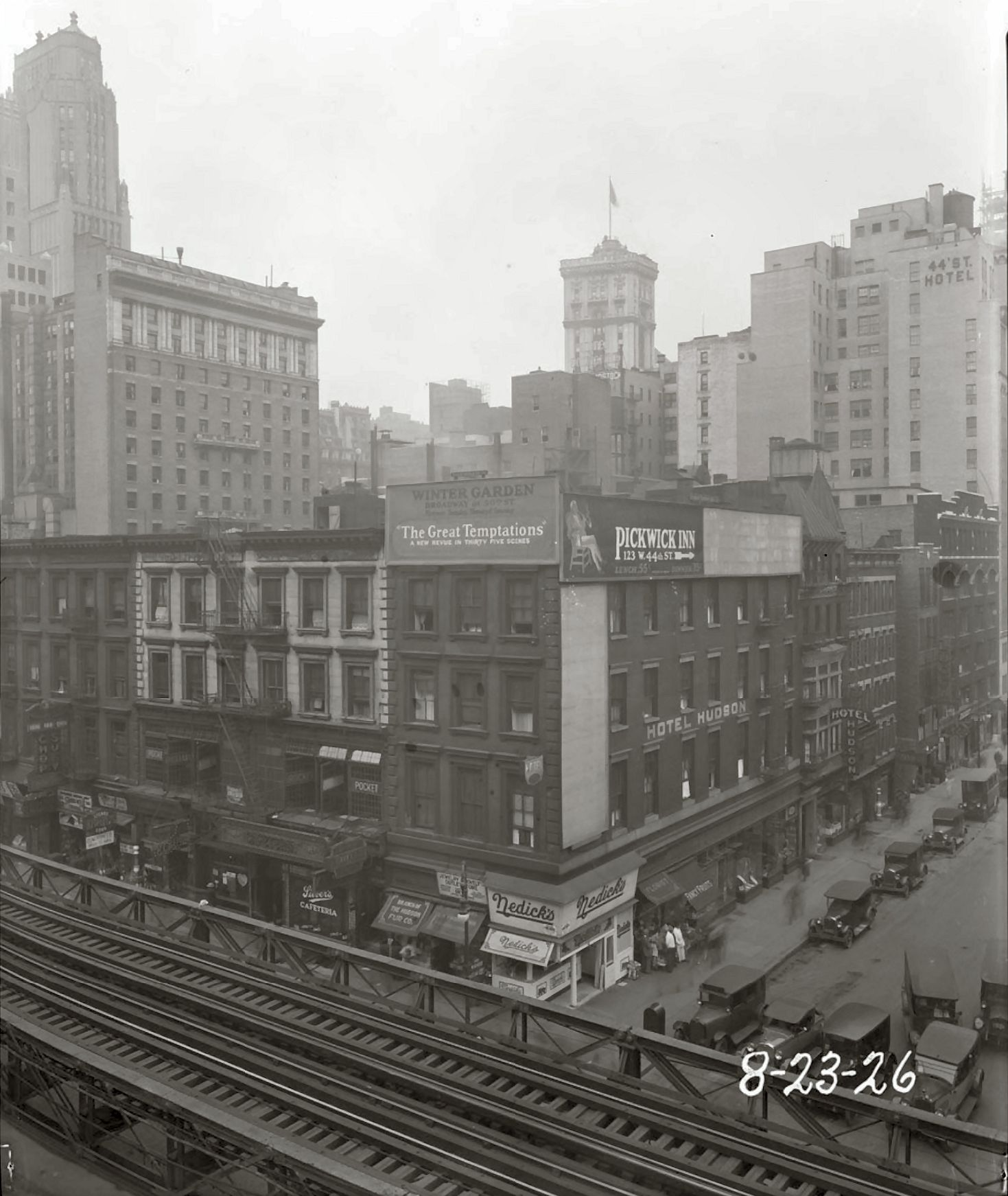 sixth avenue and west 44th street new york city august 23 1926
