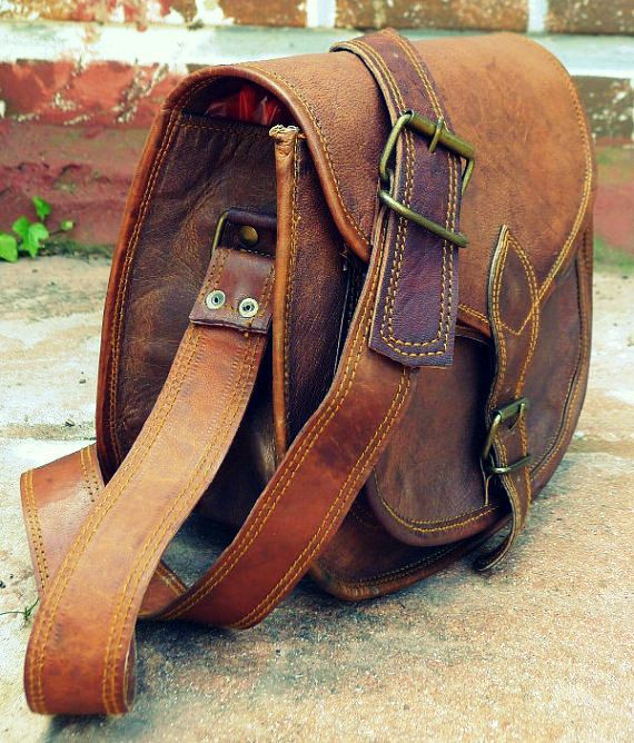 Rustic Leather Purse Crossbody Bag Handbag For Women On Etsy 29 00