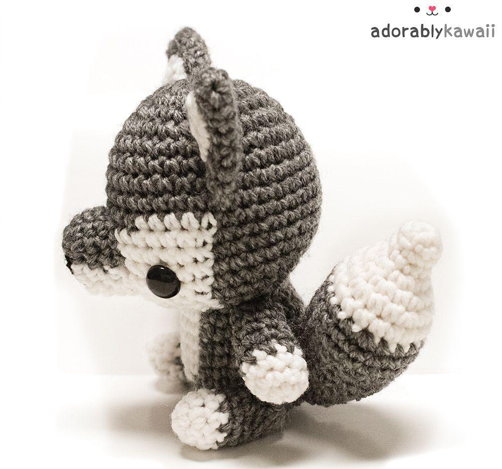 Baby Wolf Amigurumi pattern by Amanda Maciel | Baby wolves ...