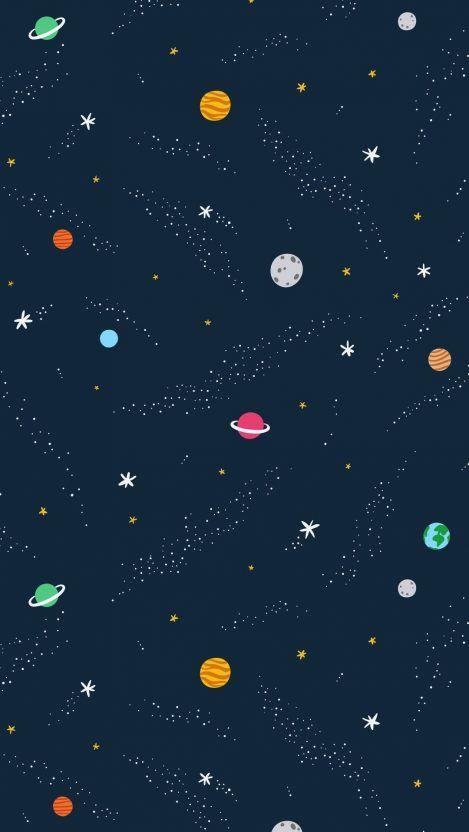 Universe Art Minimal Iphone Wallpaper En 2019 Ideas De