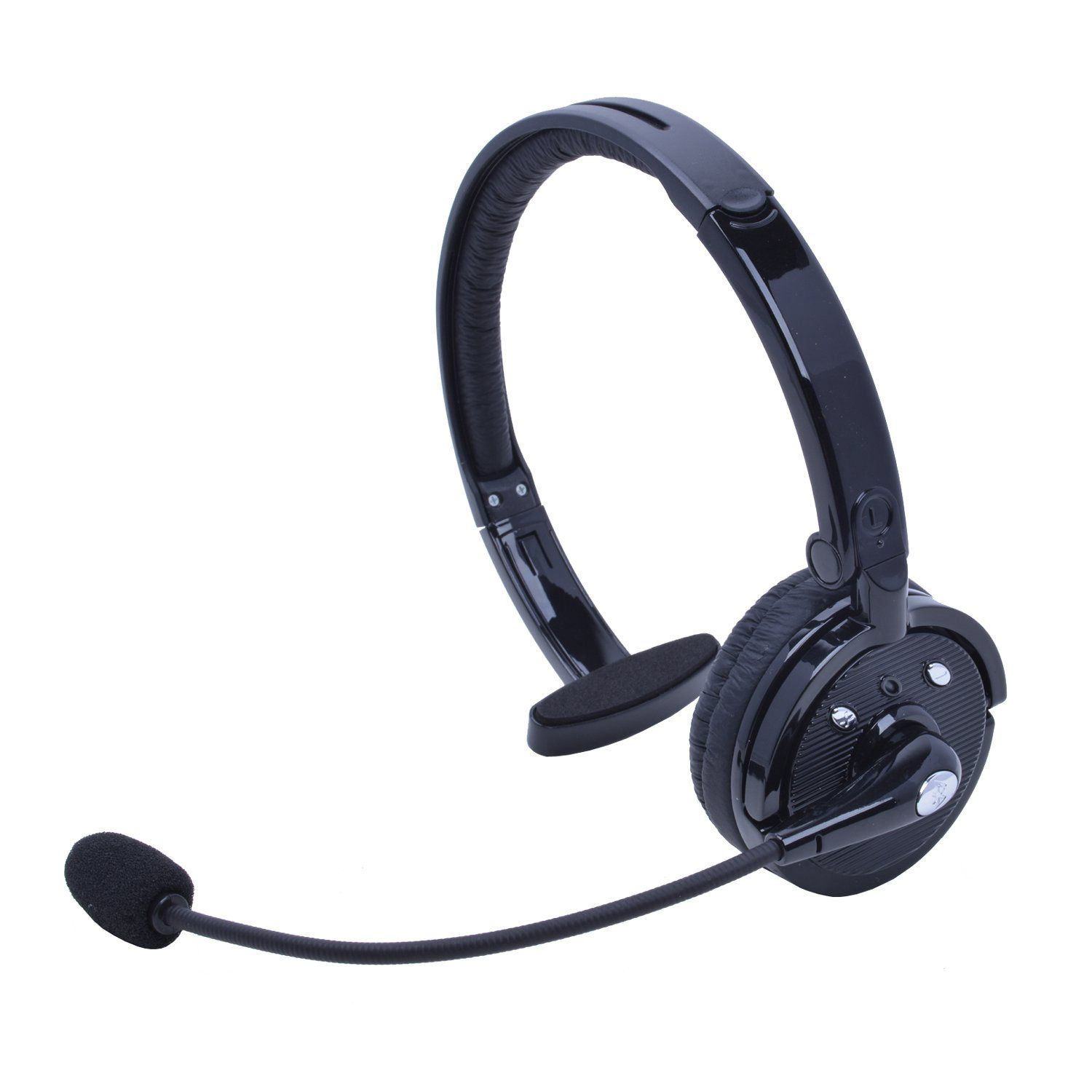 9beeabcfda7 Wireless Truck Driver Bluetooth Headset with Boom Microphone - stardrift  Over-the-Head Foldable