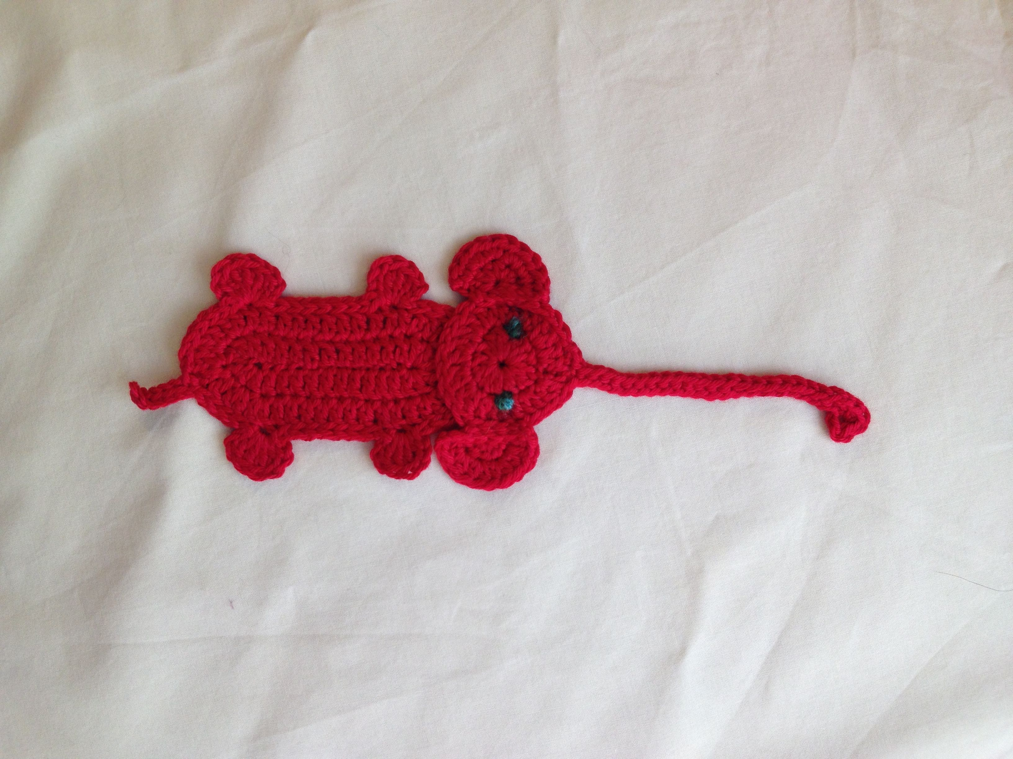 Elephant Bookmark by Jelly Designs, on Ravelry Read more at http ...