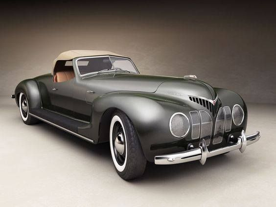 1939 Duesenberg Coupe Simone The Midnight Ghost Sports Cars