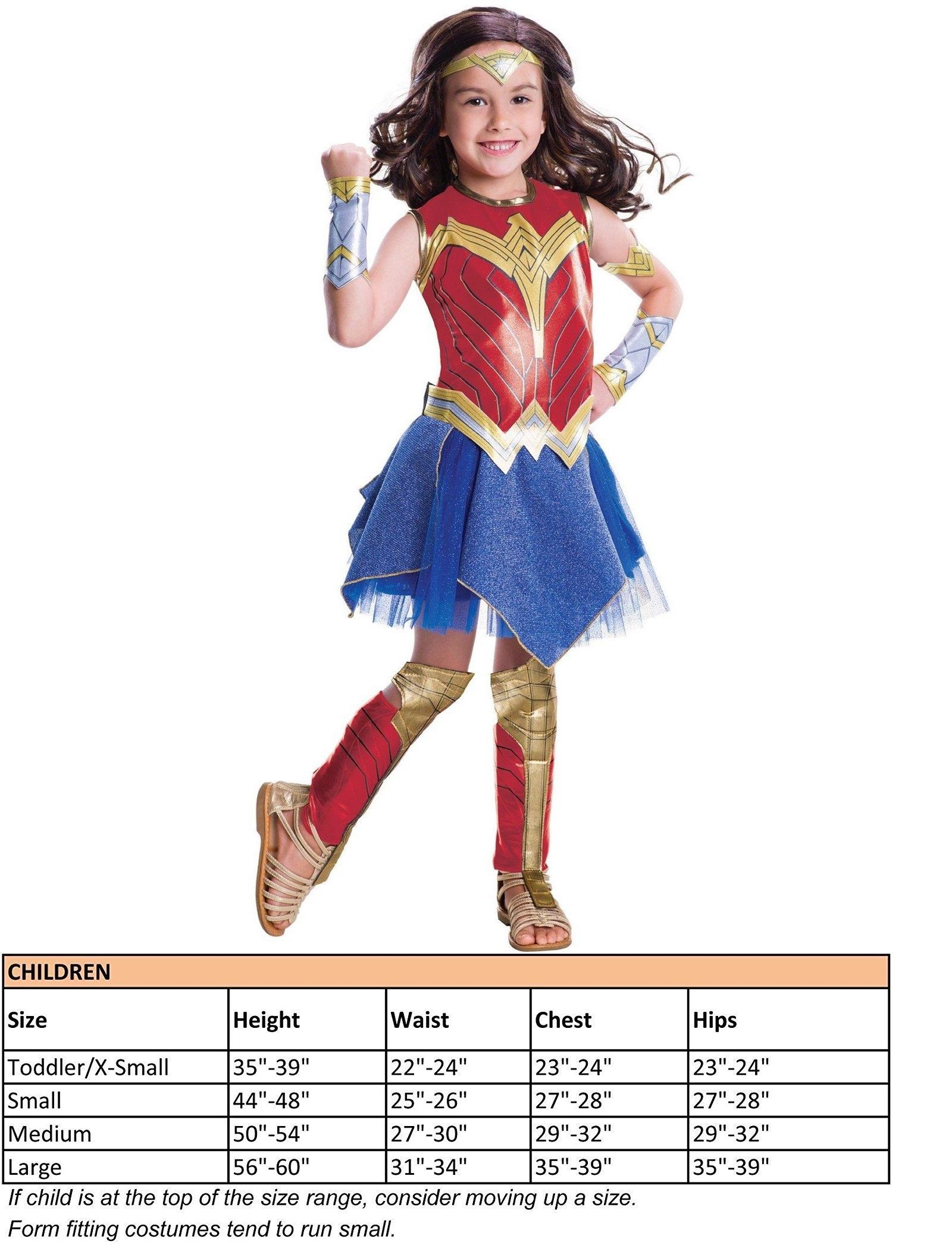 Kids Costumes Wonder Woman Movie Childs Deluxe Costume Size Small Hot For 2017!  sc 1 st  Pinterest & Kids Costumes: Wonder Woman Movie Childs Deluxe Costume Size Small ...