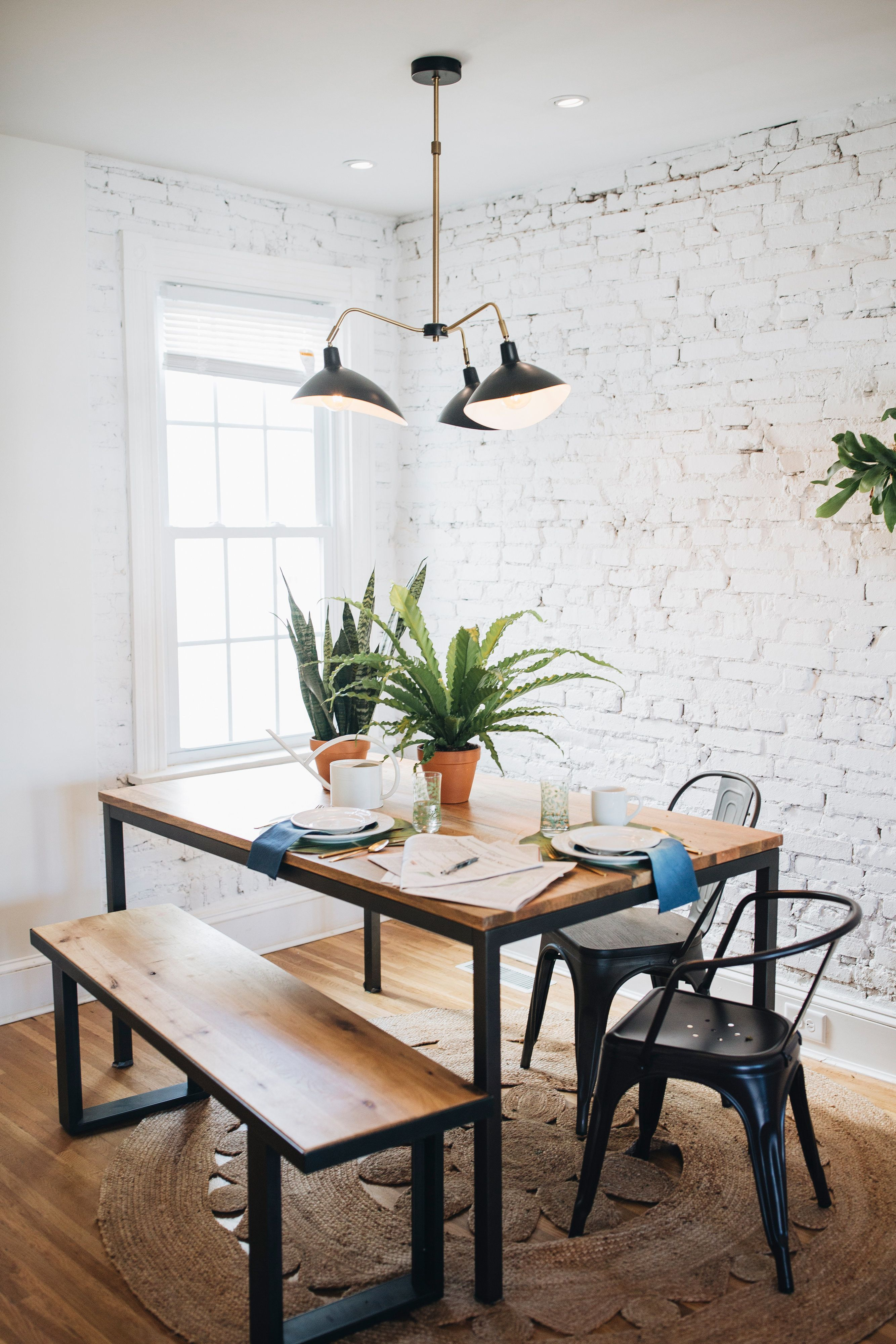 Tour A Pennsylvania Row Home Filled With Old Soul And Modern Decor Boho Dining Room Dining Room Design Beautiful Dining Rooms