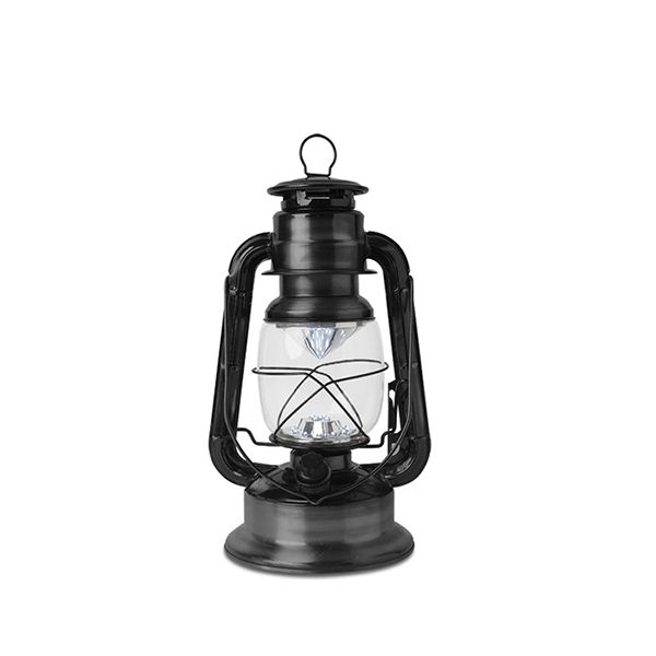 This Awesome Hurricane Lantern Has An Antique Look But