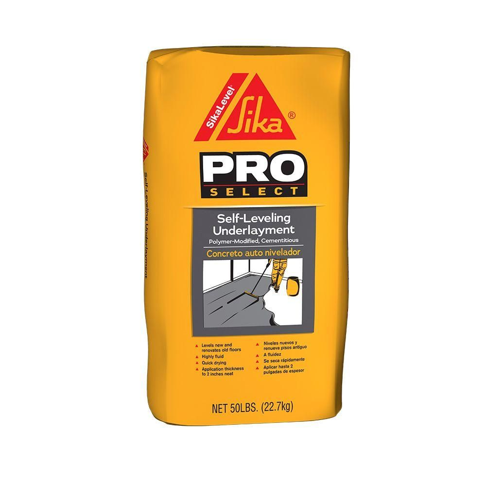 Sika 50 lb  Self-Leveling Underlayment | Landscaping | Construction