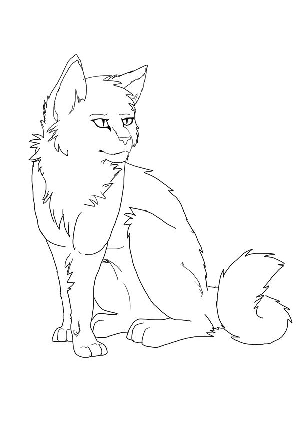 25 Best Warrior Cats Coloring Pages For Your Naughty Kid Cat Coloring Page Cat Coloring Book Animal Coloring Pages