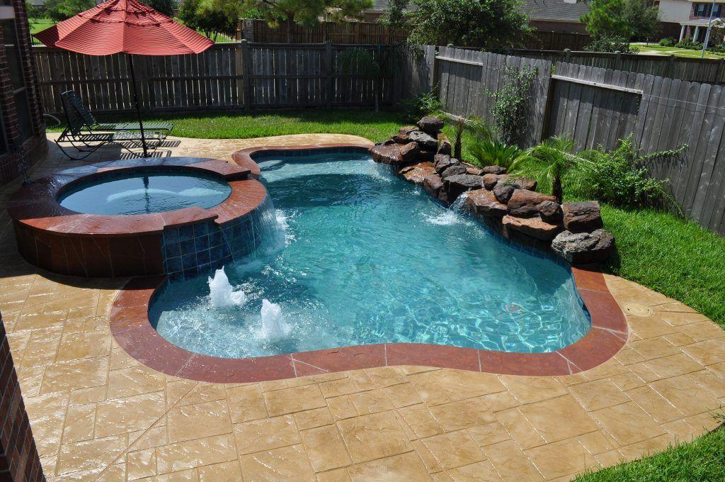 Mini Pools For Small Backyards 23 Backyard Pool Landscaping