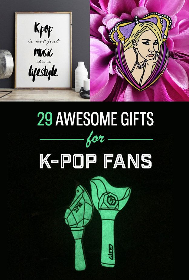 29 Daebak Gifts For Die Hard K Pop Fans