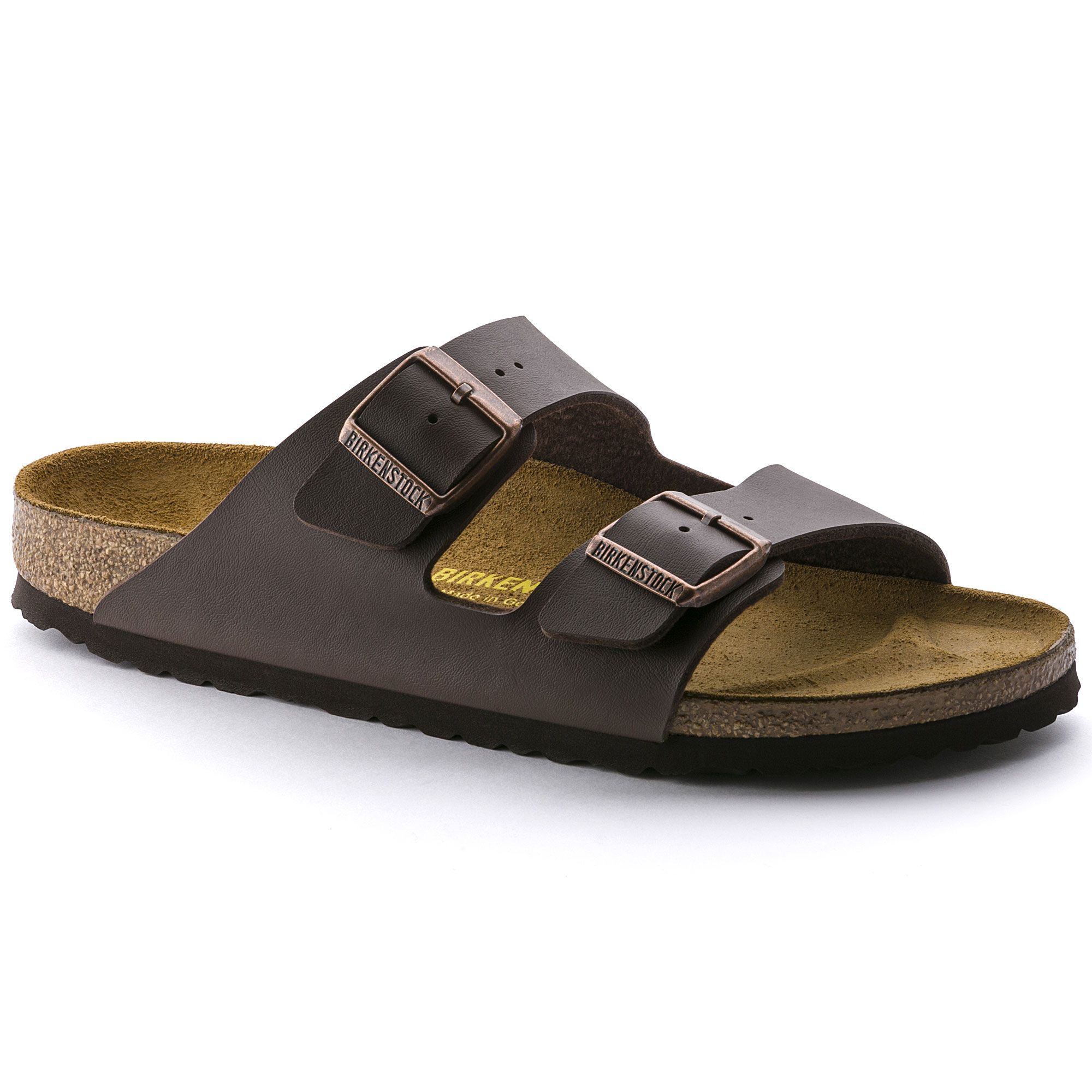 BIRKENSTOCK Arizona Birko-Flor Dark Brown in all sizes ✓ Buy directly from  the manufacturer online ✓ All fashion trends from Birkenstock