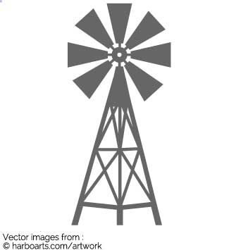 image result for windmill vector silhouette vector graphics