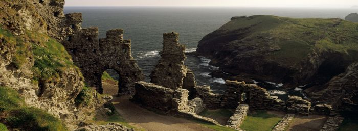 """This bit of coastline (Tintagel and thereabouts) is my """"toss my ashes here"""" locale...  One of my favorite places in all the world."""