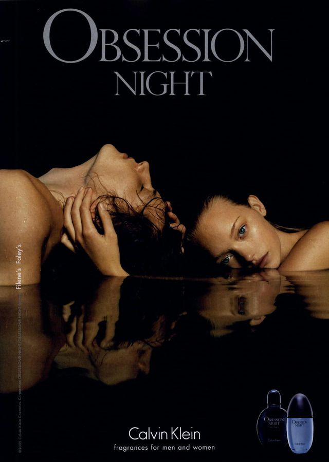 Calvin Klein Ad Campaign Obsession Night | Obsession night, Calvin klein  ads, Calvin klein obsession night