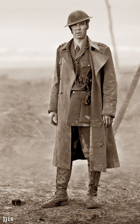 Benedict Cumberbatch in Parade's End - so you're pining everything I pin don't you?