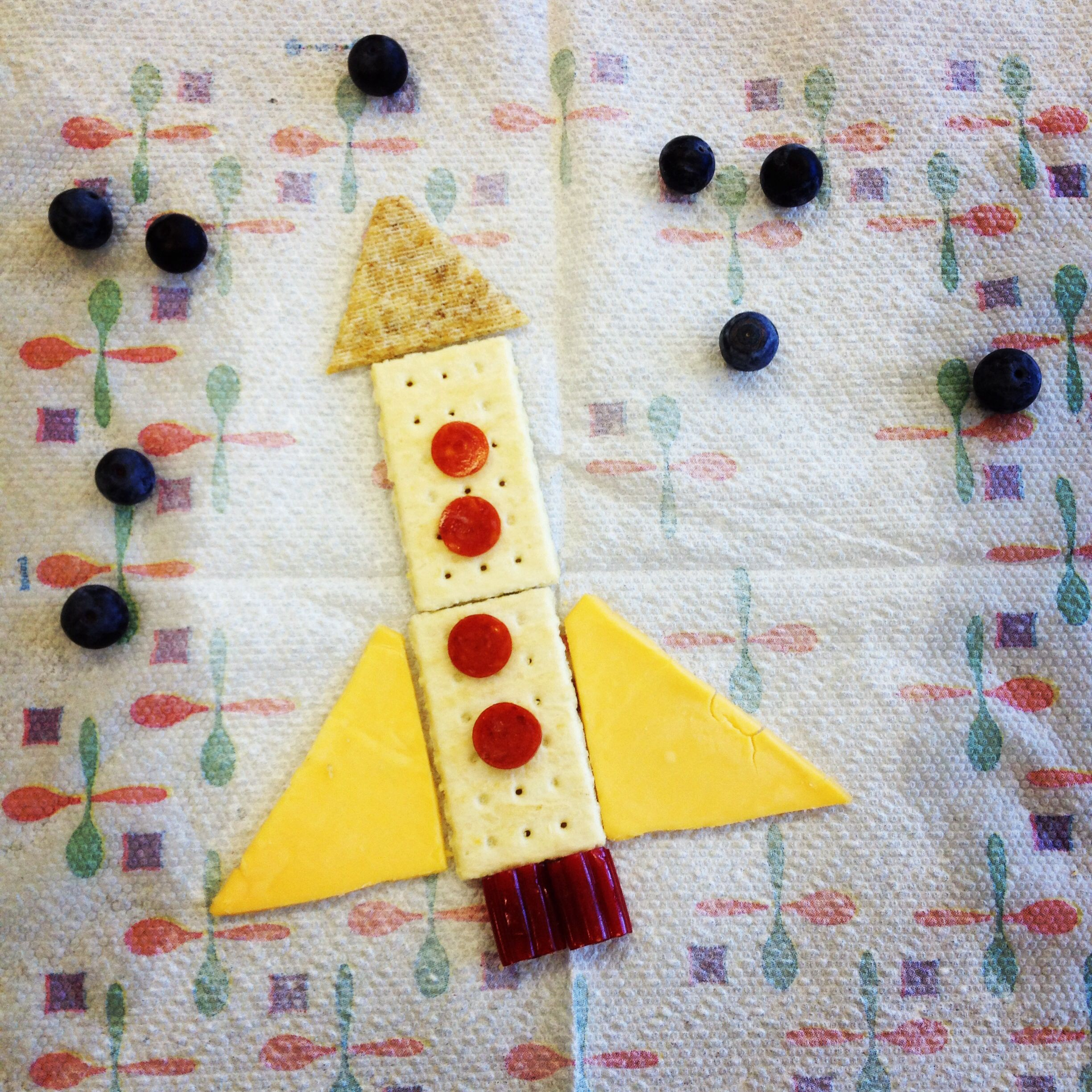 Rocket snack for space theme | For my KinderCare kids