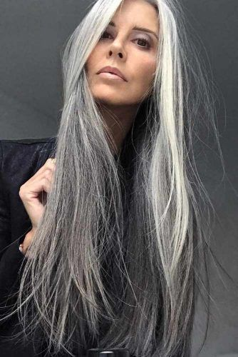 30 Try Grey Ombre Hair This Season #hairideas
