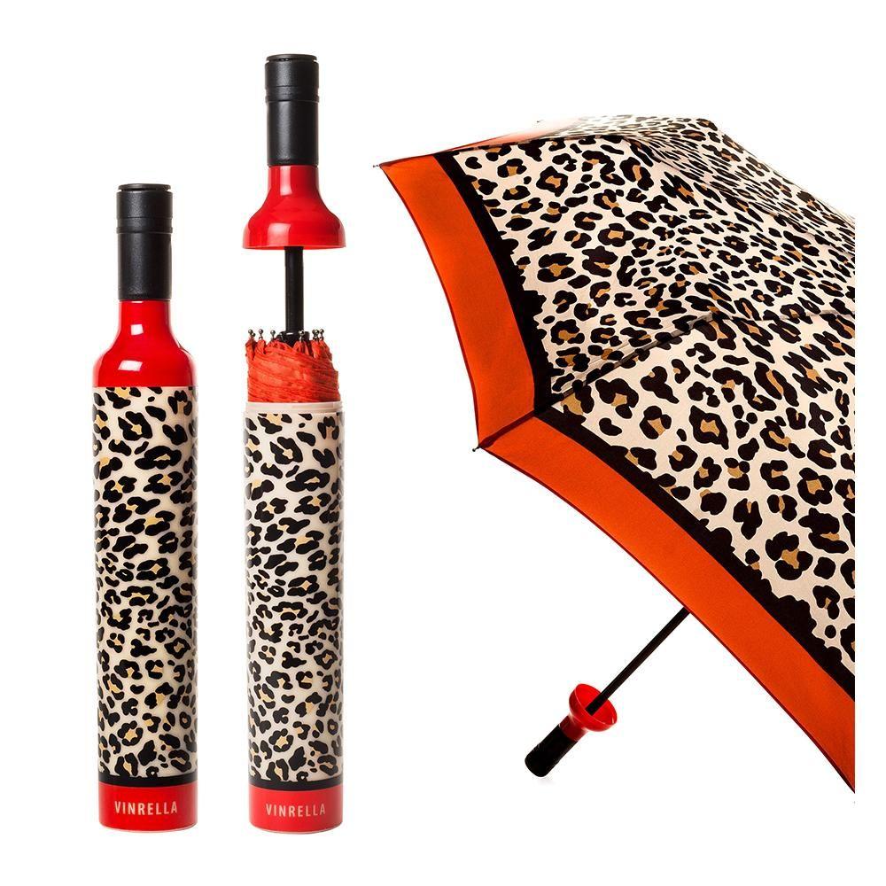 Leopard Print Bottle Umbrella In 2020 Print Umbrella Umbrella Umbrella Designs