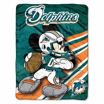 Miami Dolphins Mickey Mouse Throw Blanket Click To Enlarge Simple Miami Dolphins Plush Fleece Throw Blanket