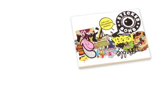 Urban Media Sticker Bomb boek