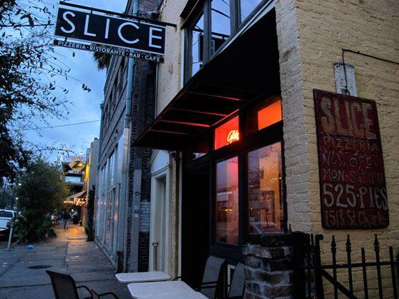Slice Pizza St Charles Avenue New Orleans La Favorite Places