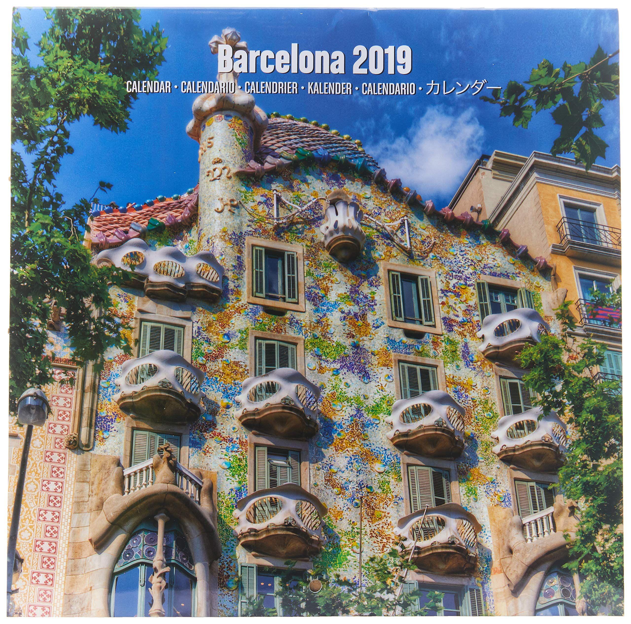 Calendario Da Muro 2019 Vintage 30 X 30 Cm Grupo Erik