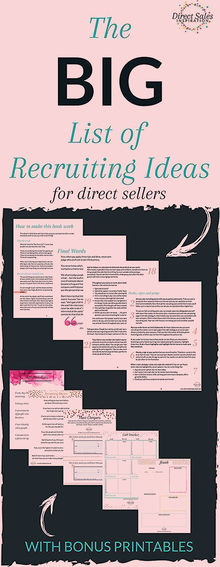 Photo of FREE recruiting ebook for Direct Sellers