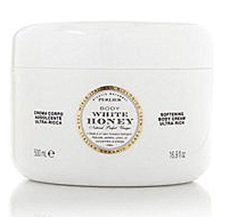 Perlier White Honey and Sicilian Almond Body Cream 100% Organic Italian Honey