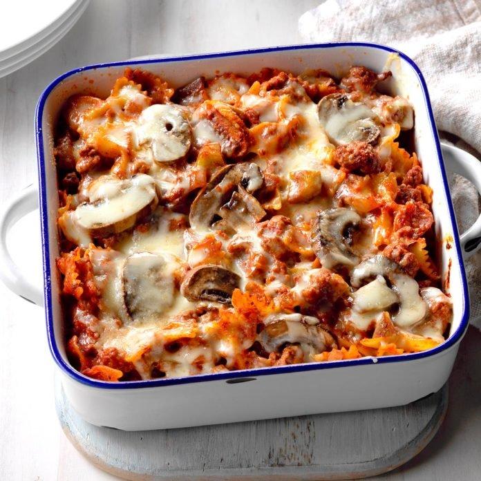 Italian Hot Dish Recipe Food Recipes Food Dishes
