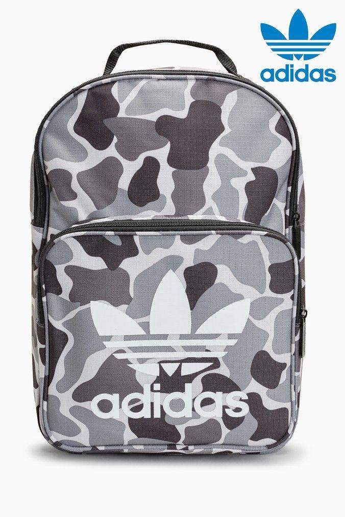 19f7cddab84a Mens adidas Originals Classic Trefoil Backpack - Grey