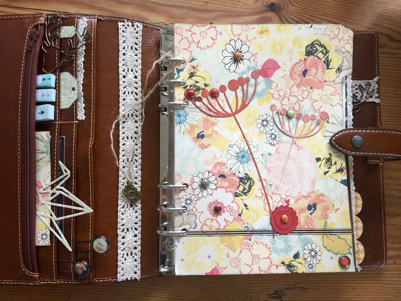 Filofax Ideen.My New Filofax Decoration Ideas Malden Ochre A5 I Love It
