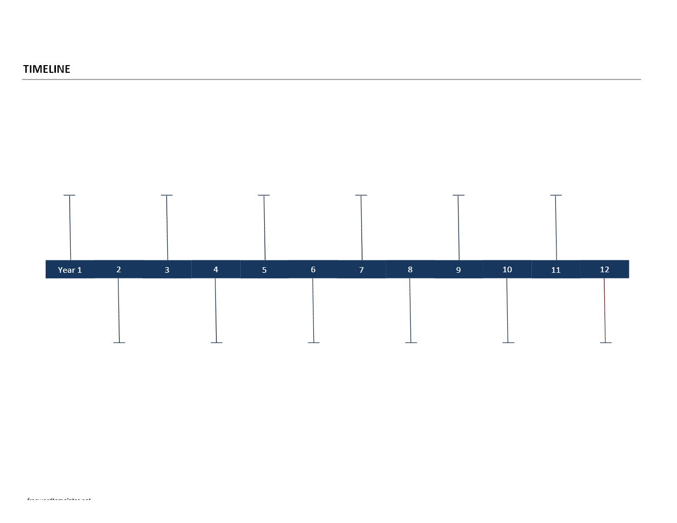 Timeline Template For Word  Projets  Essayer