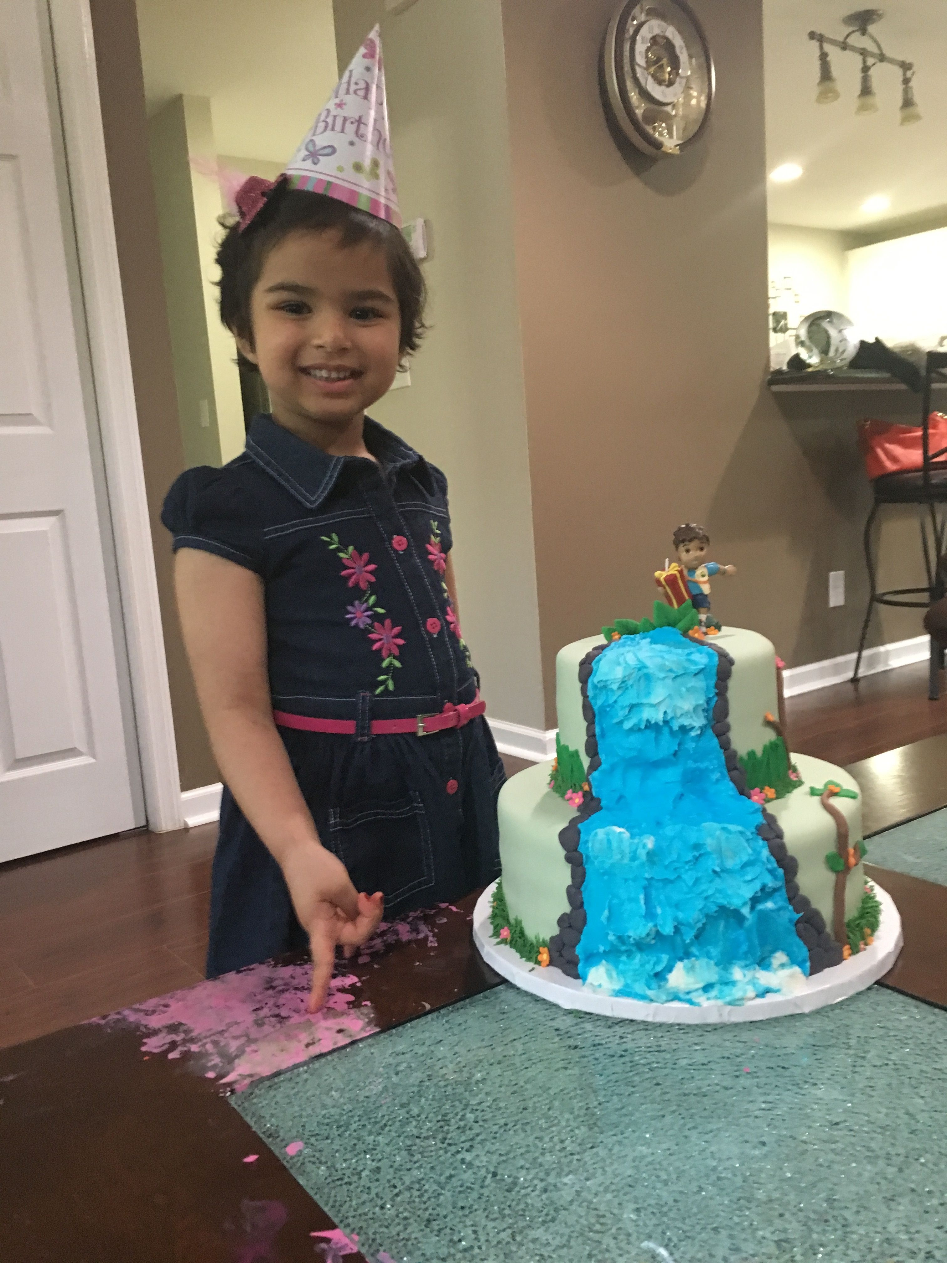 Aashi loved her DiegoCake! Thank you to Jessica Wallace